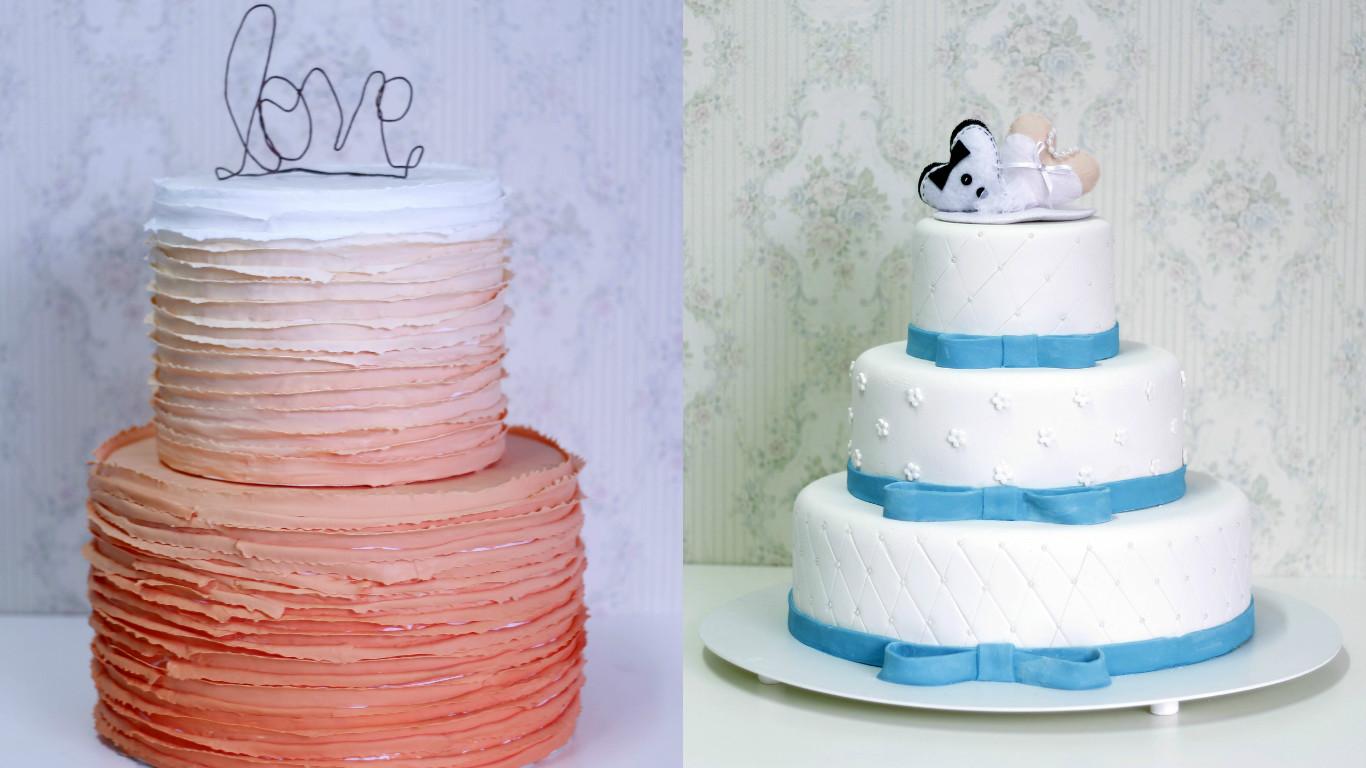 bolo pasta casamento